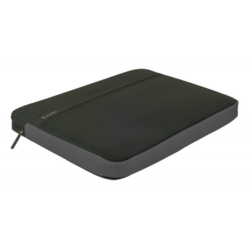König 14 inch laptopsleeve zwart